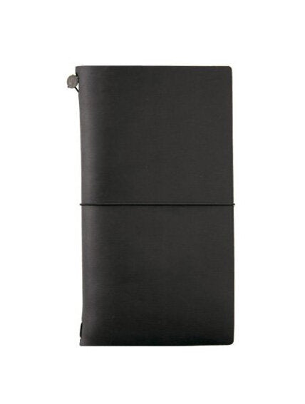 Midori Traveler's Notebook Regular - Black - M.Lovewell