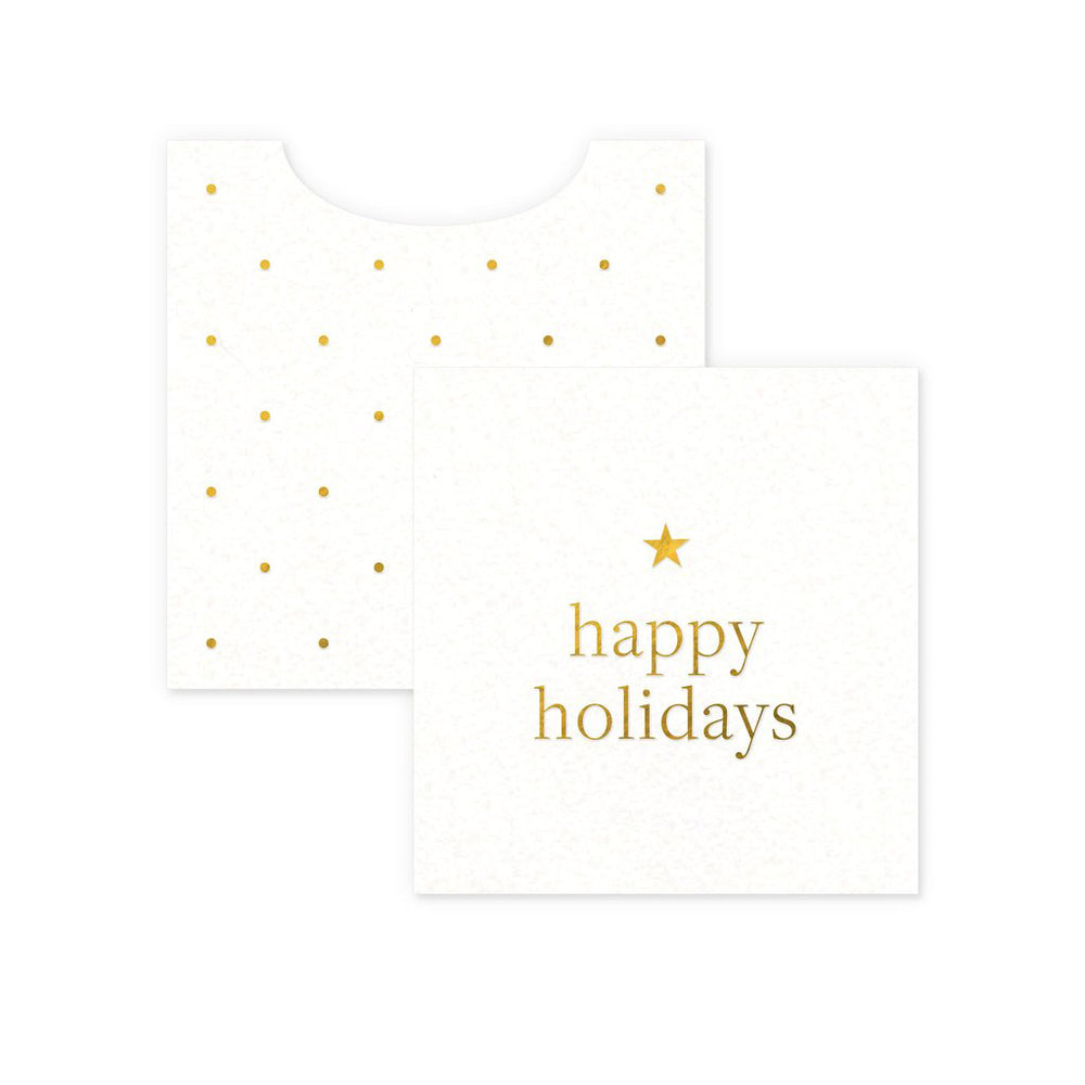 Mini Happy Holidays Card