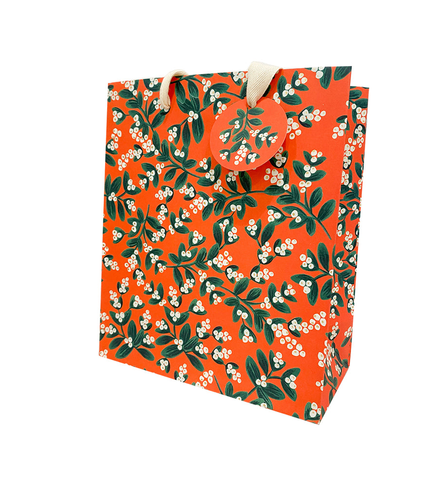 Mistletoe Gift Bag - Medium