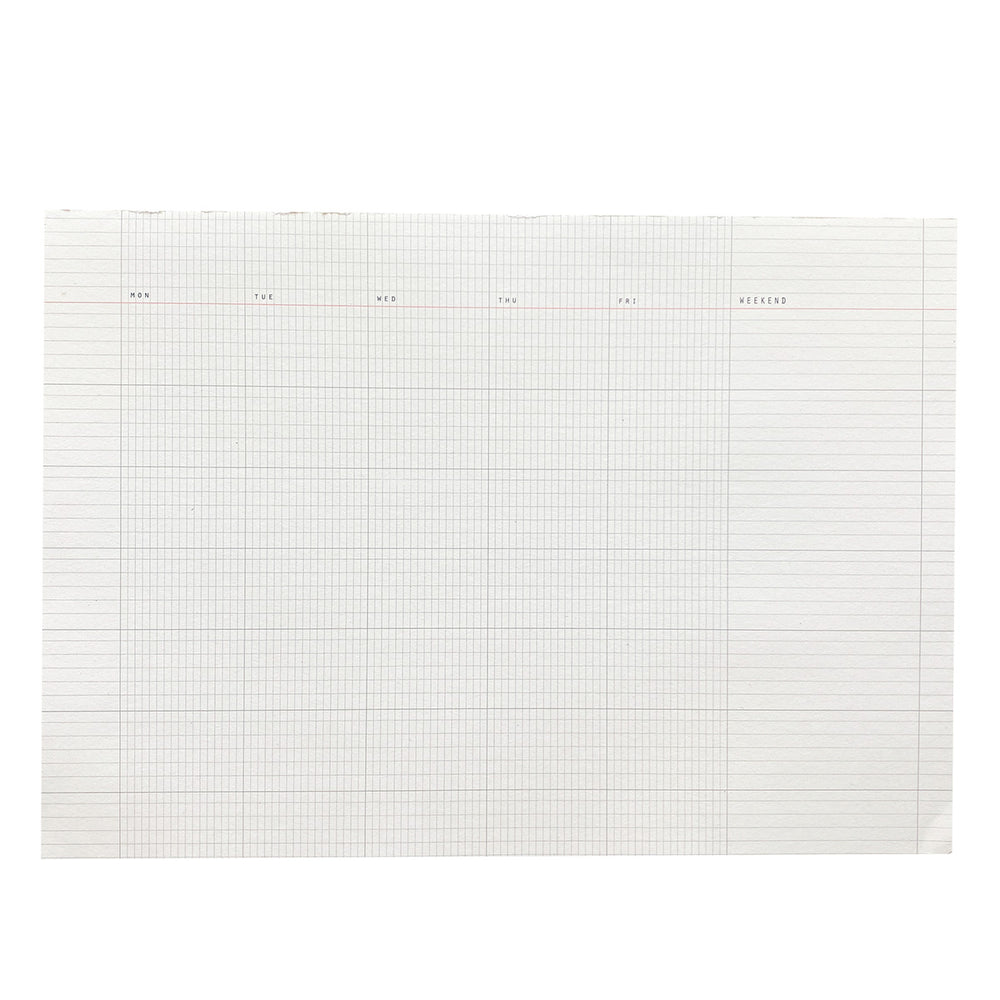A4 Desk Pad Monthly
