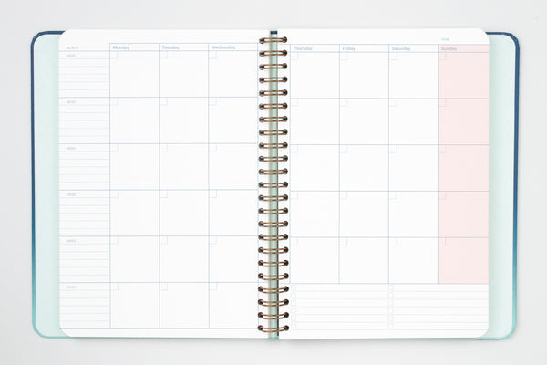 Mossery Half Year Planner + Dot Grid Notebook