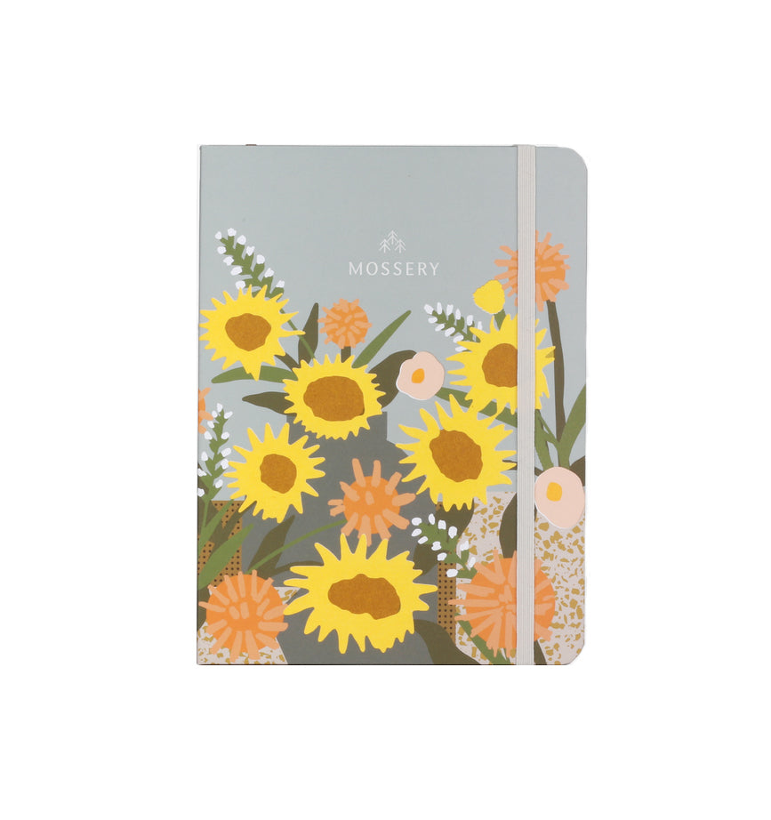 Mossery Threadbound Notebook - Dot Grid - Sunflower