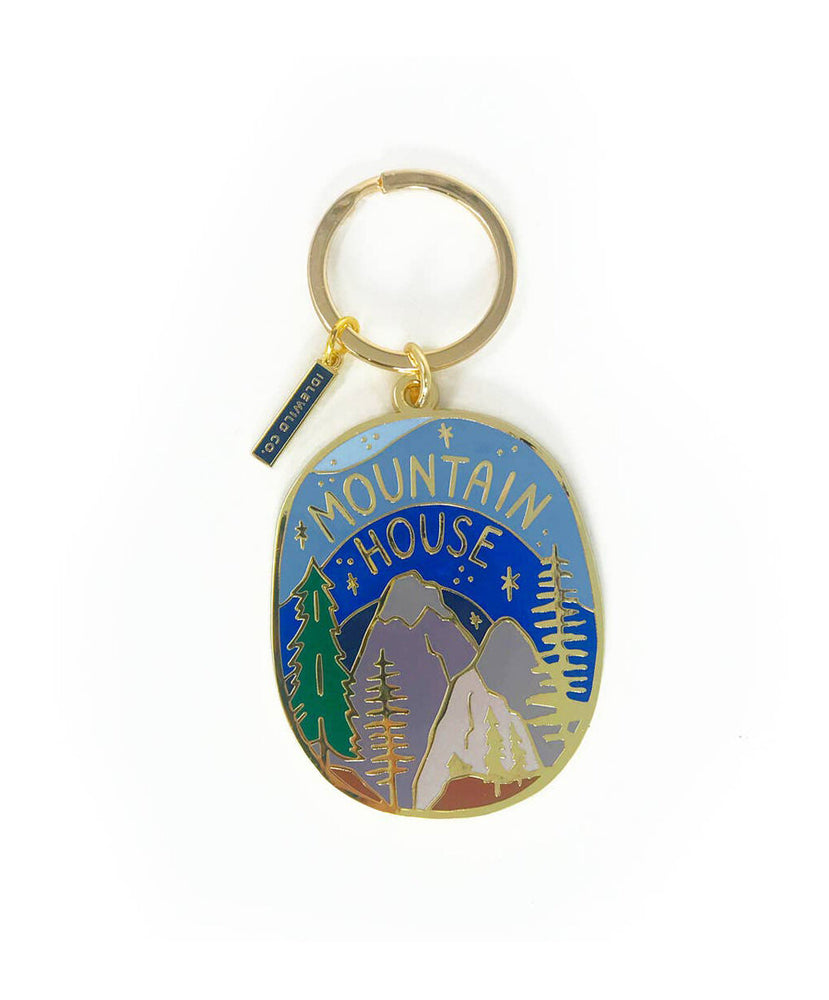 Mountain House Keychain