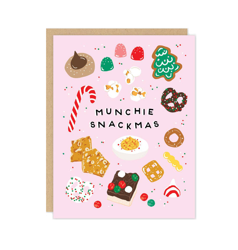 Munchie Snackmas Holiday Card