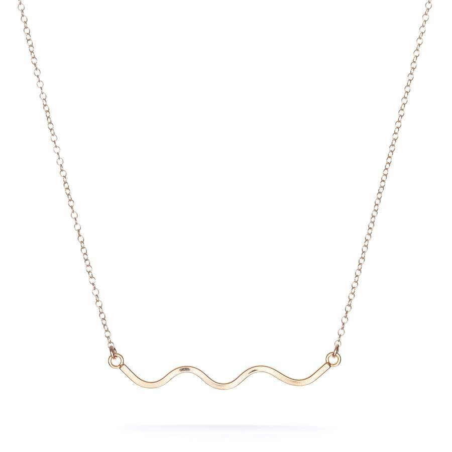 Squiggle Necklace - M.Lovewell