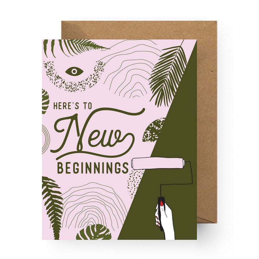 New Beginnings Card - M.Lovewell