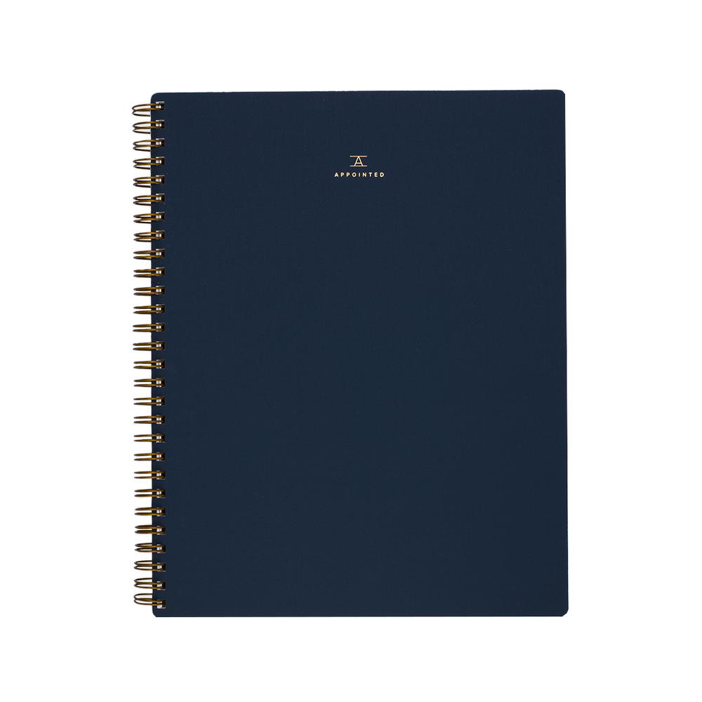 Appointed Lined Notebook - M.Lovewell