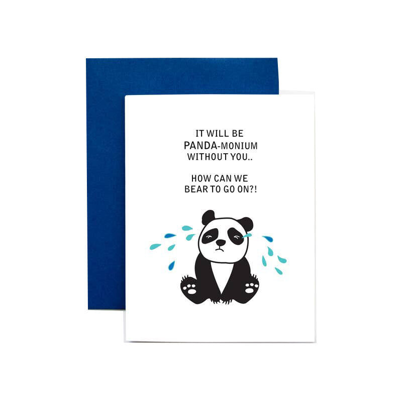 Pandamonium Card - M.Lovewell