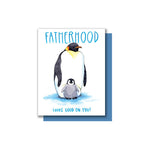 Penguin Fatherhood Card