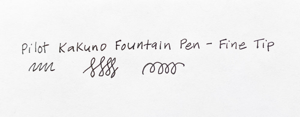 Pilot Kakuno Fountain Pen - Fine Tip - M.Lovewell