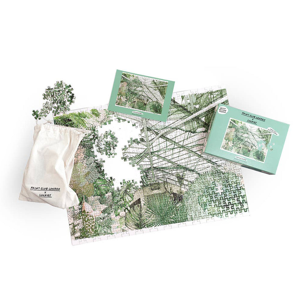 Plant Conservatory Jigsaw Puzzle