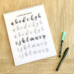 September 26: Modern Brush Lettering with Letters By Shells - M.Lovewell