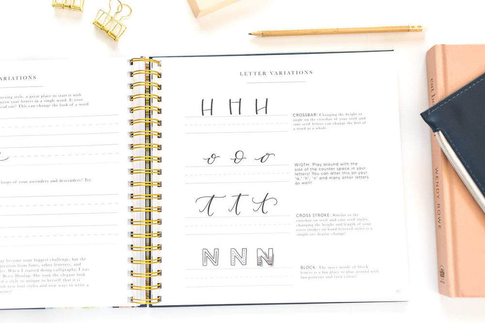 Pretty Simple Lettering: Modern Calligraphy and Hand Lettering for Beginners