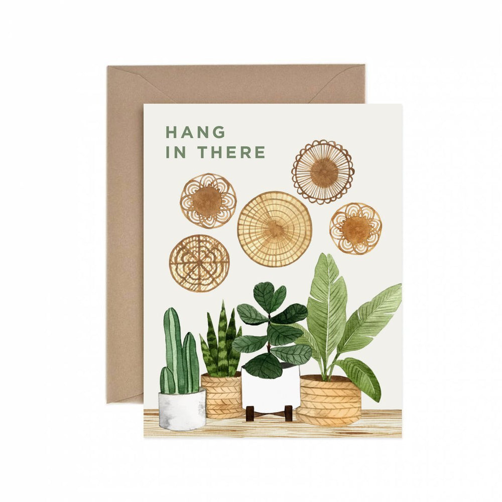 Hang in There Card - M.Lovewell