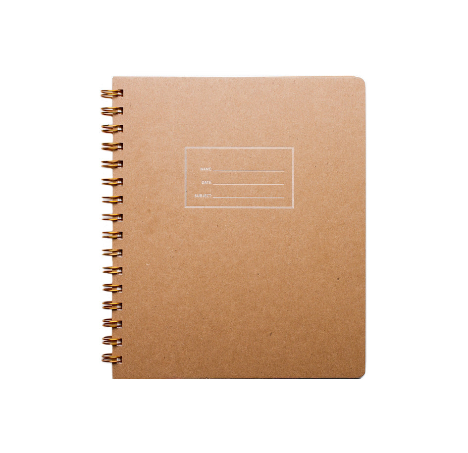 Standard Lined Notebook - Kraft