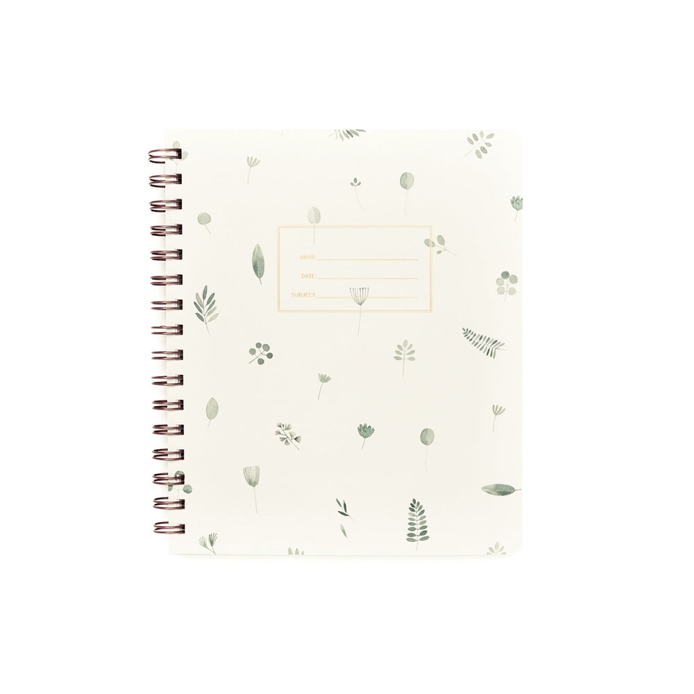Standard Lined Notebook - Plants