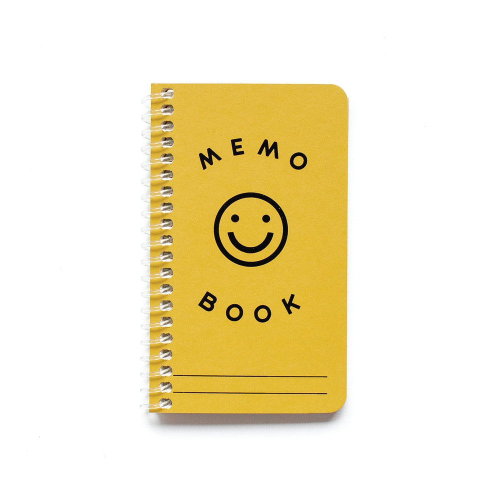 Smiley Face Mini Memo Book