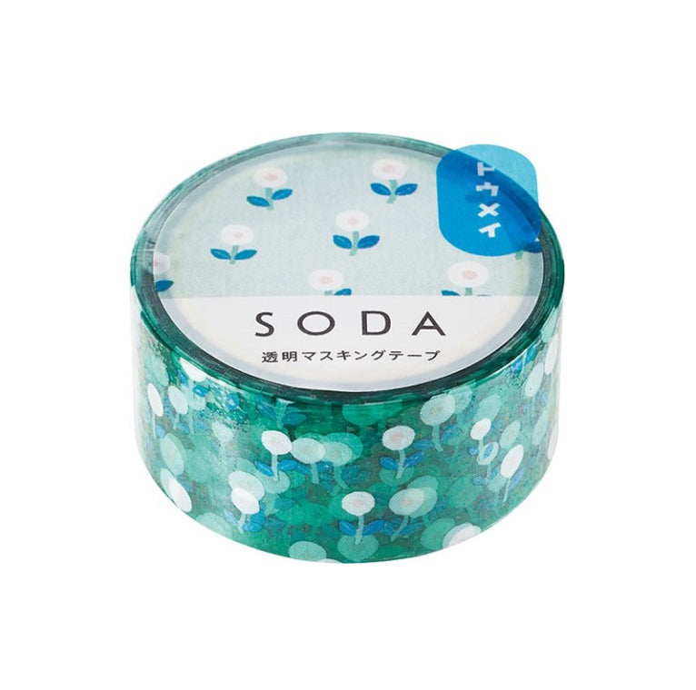 Soda Transparent Washi Tape - Field