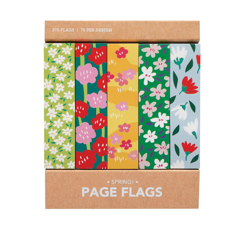 Spring Flowers Sticky Page Flags