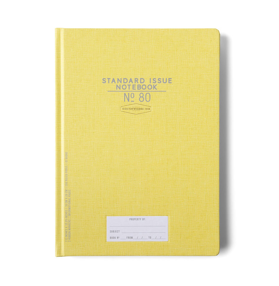 Standard Issue No. 80 Notebook