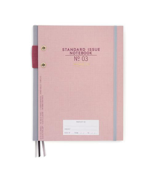 Standard Issue No. 3 Notebook - Dusty Pink
