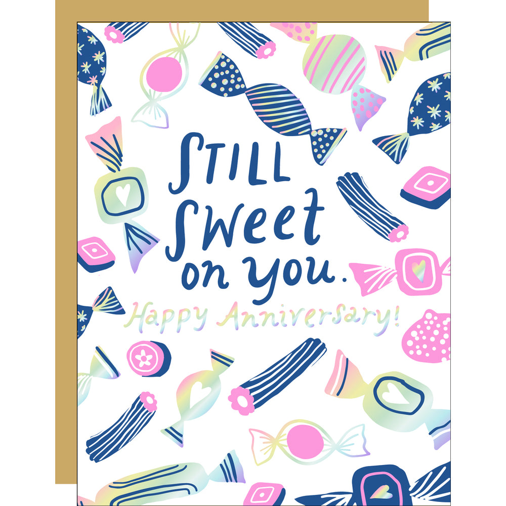 Still Sweet on You Anniversary Card