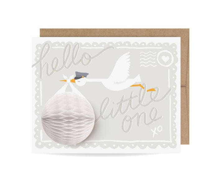 Stork Pop-up Card
