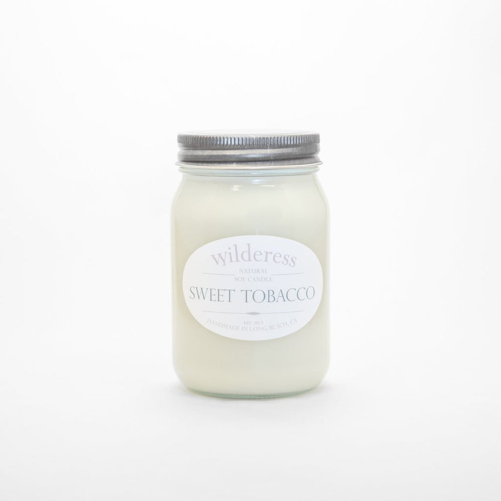 Sweet Tobacco Soy Candle - M.Lovewell