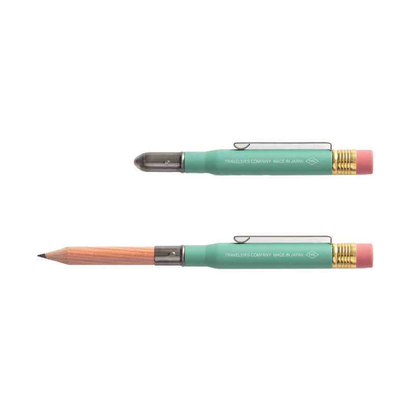 TRC Limited Edition Brass Pencil Factory Green