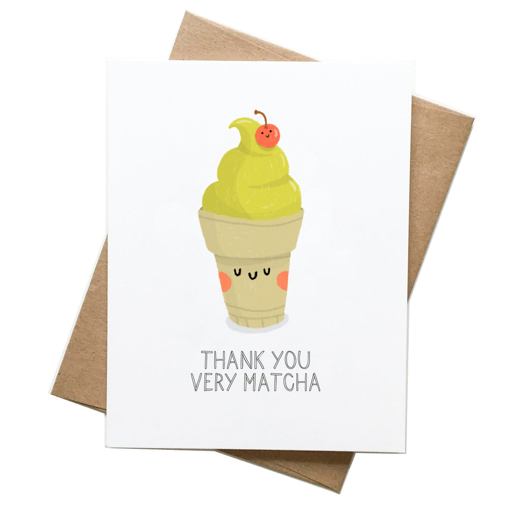Thank You Matcha Card