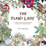 The Plant Lady Coloring Book by Sarah Simon - M.Lovewell