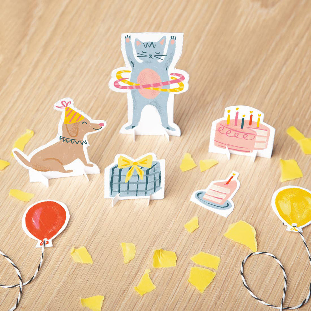 Tiny Paper Party Birthday Card