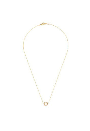 Tiny Gold Ring Necklace - M.Lovewell