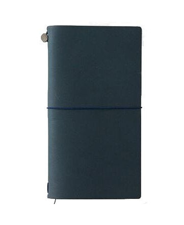 Midori Traveler's Notebook Regular - Blue - M.Lovewell