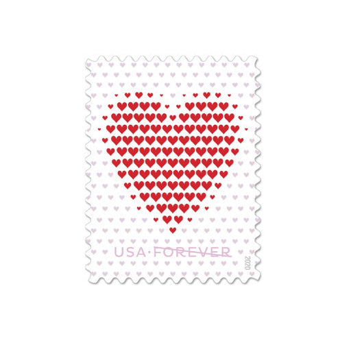 Forever Postage Stamps - Heart