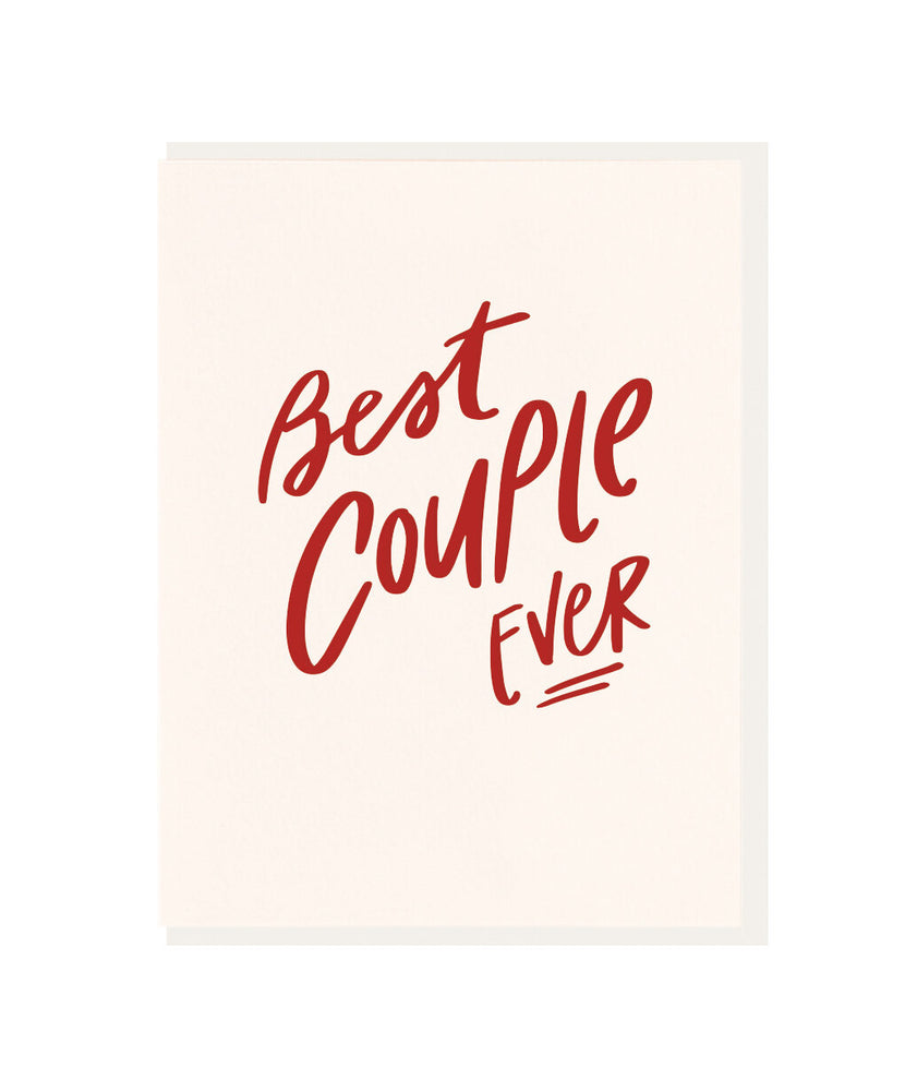 Best Couple Ever Wedding Card - M.Lovewell
