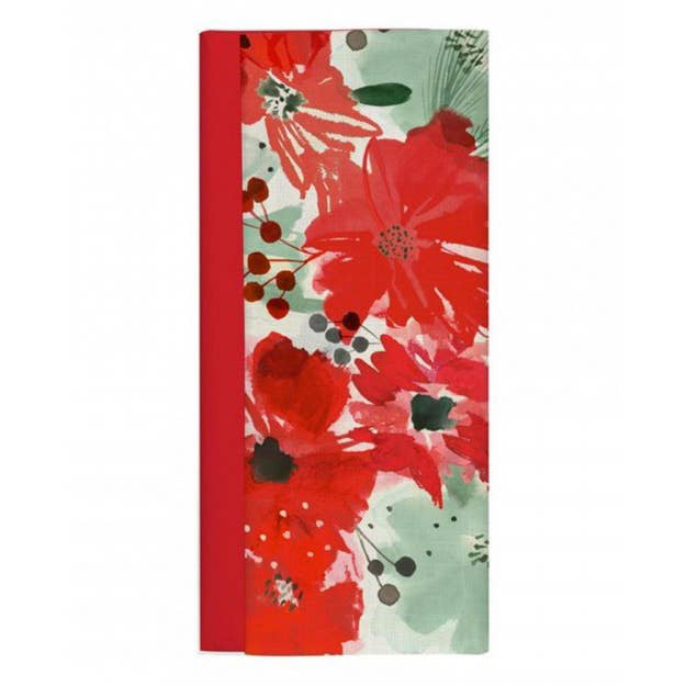 Watercolor Holiday Floral Tissue Paper
