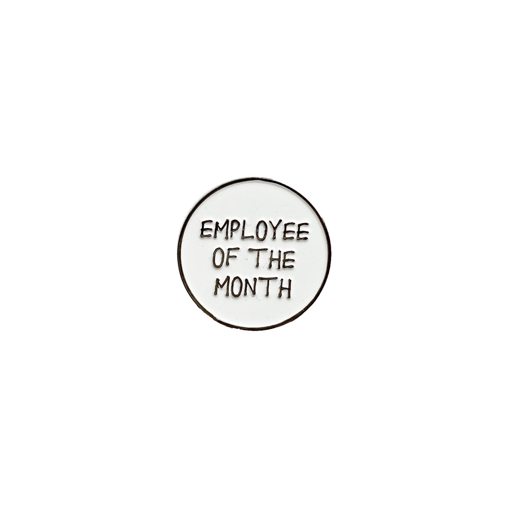 Employee of the Month Enamel Pin - M.Lovewell