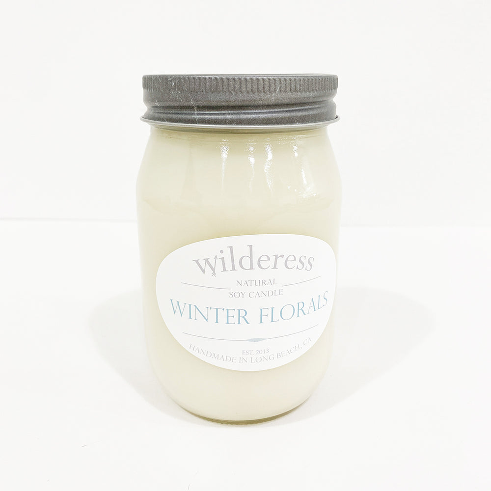 Winter Florals Soy Candle