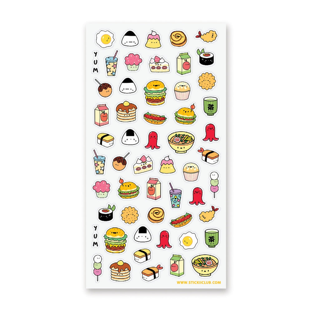Yummy Foods Stickers