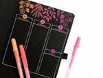 Archer & Olive Blackout Notebook - Moon Phases - M.Lovewell