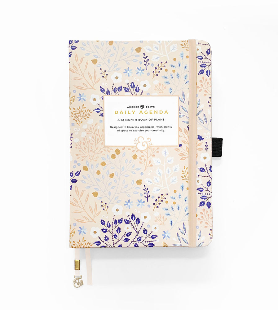 Archer & Olive Blush-A-Bye A5 Undated Planner