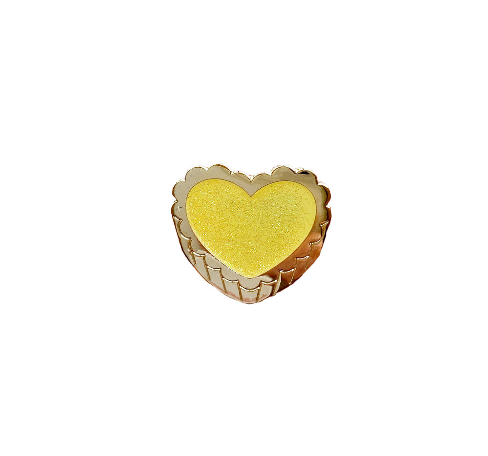 Egg Tart Enamel Pin - M.Lovewell