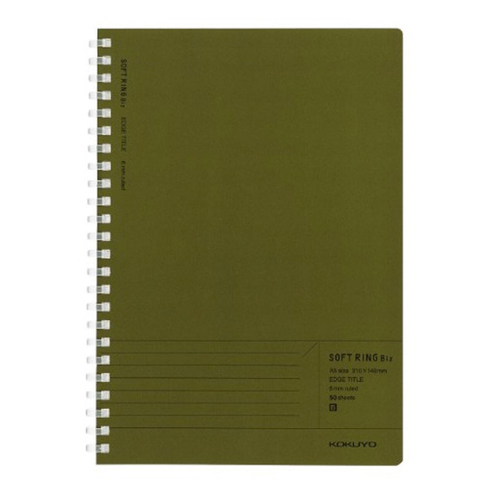 Soft Ring A5 Biz Notebook - Lined