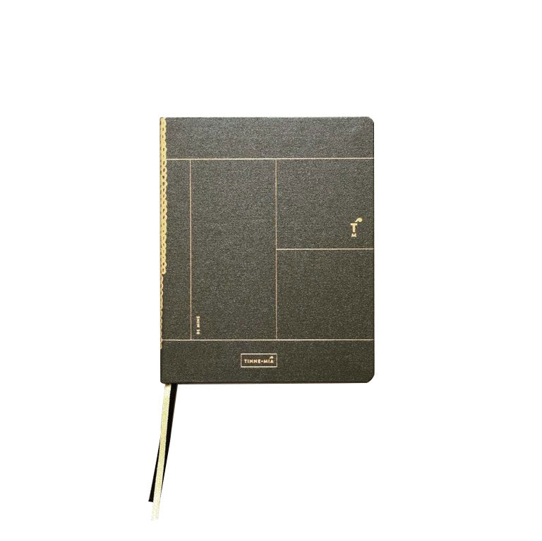 Luxe Notebook A6 - Forrest Green