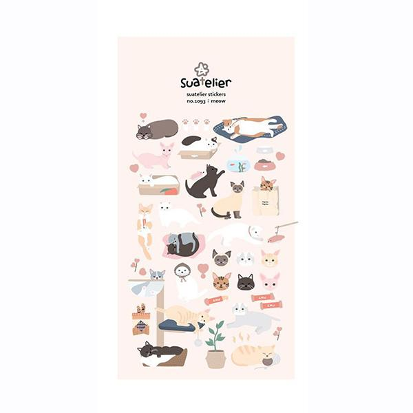 Meow Stickers - M.Lovewell