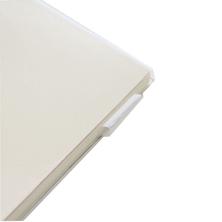 Midori A5 Notebook Clear Cover - M.Lovewell