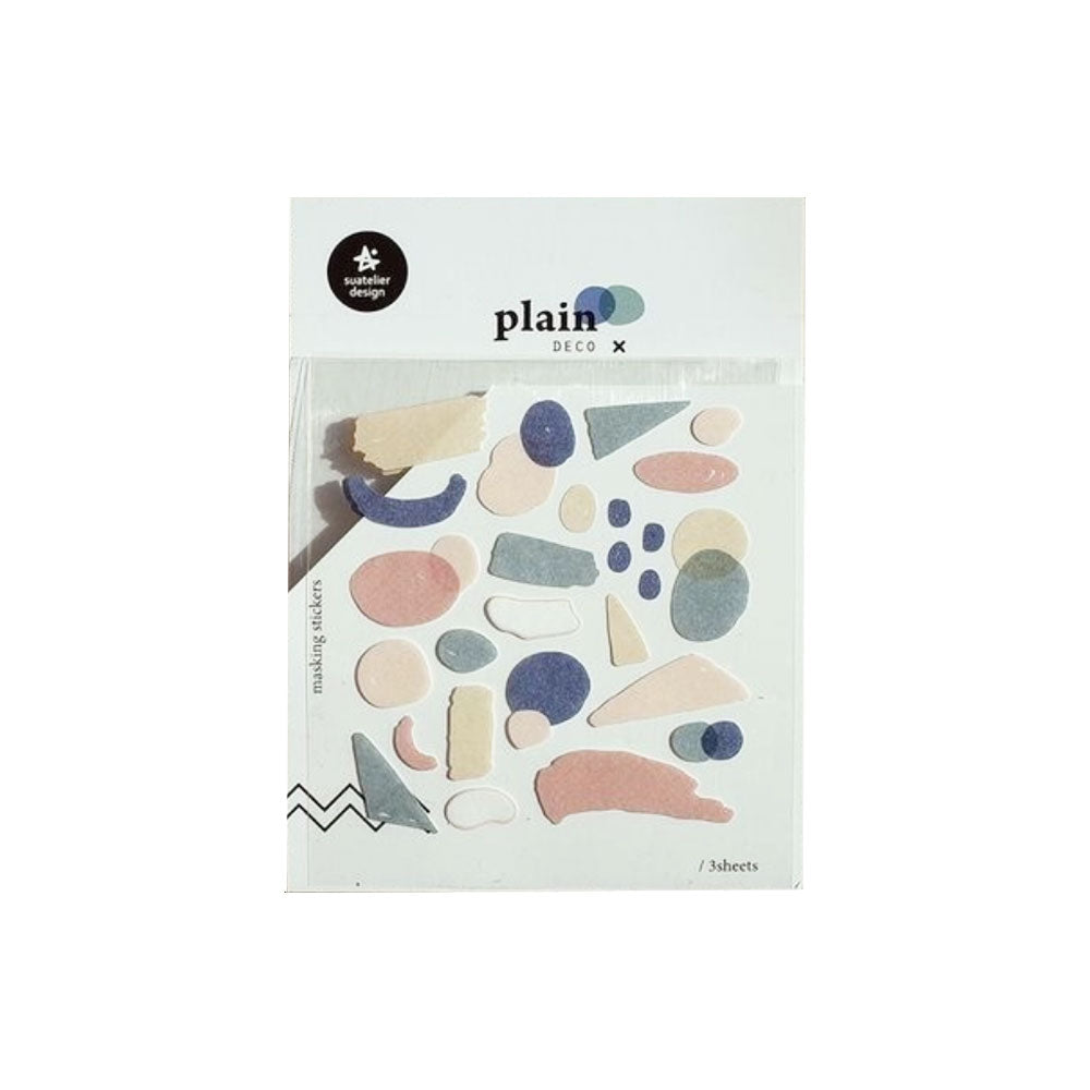 Plain Deco 1621 Stickers - M.Lovewell
