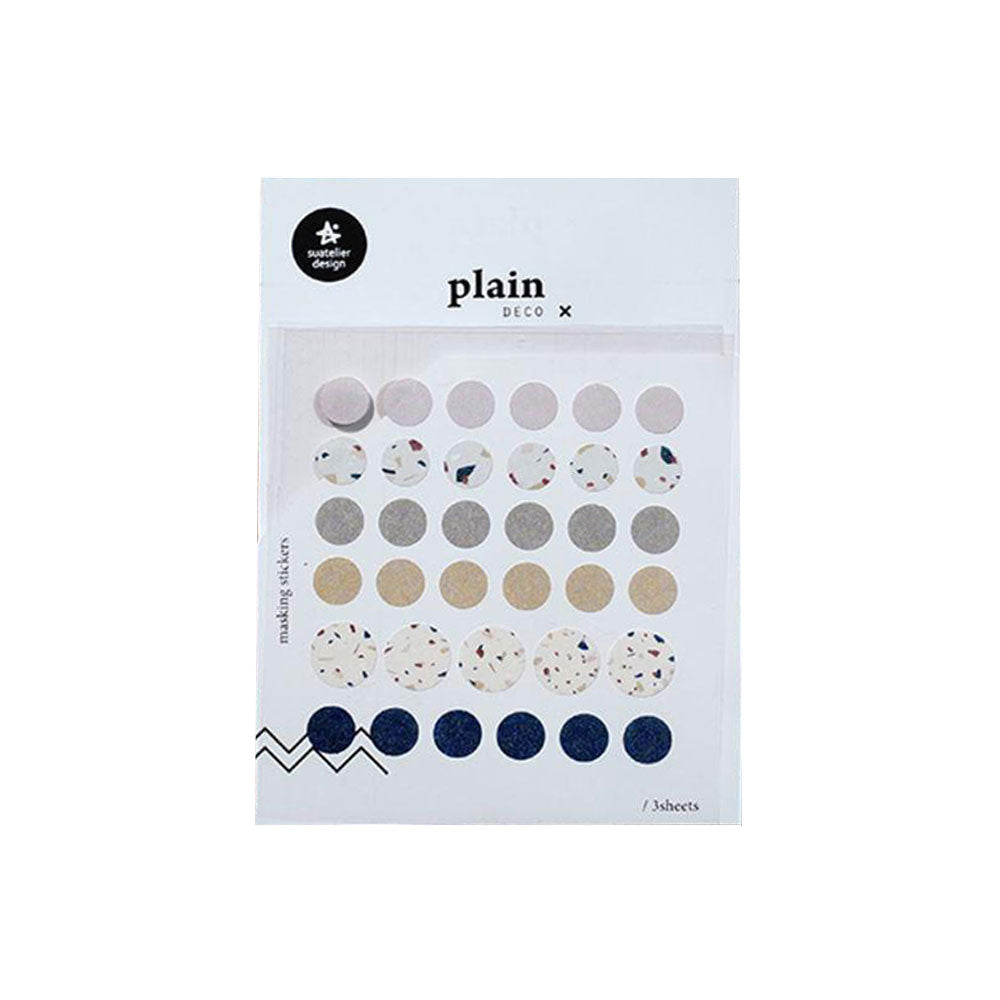 Plain Deco 1636 Stickers