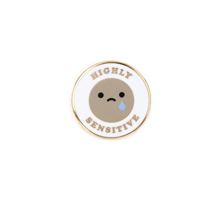 Highly Sensitive Enamel Pin